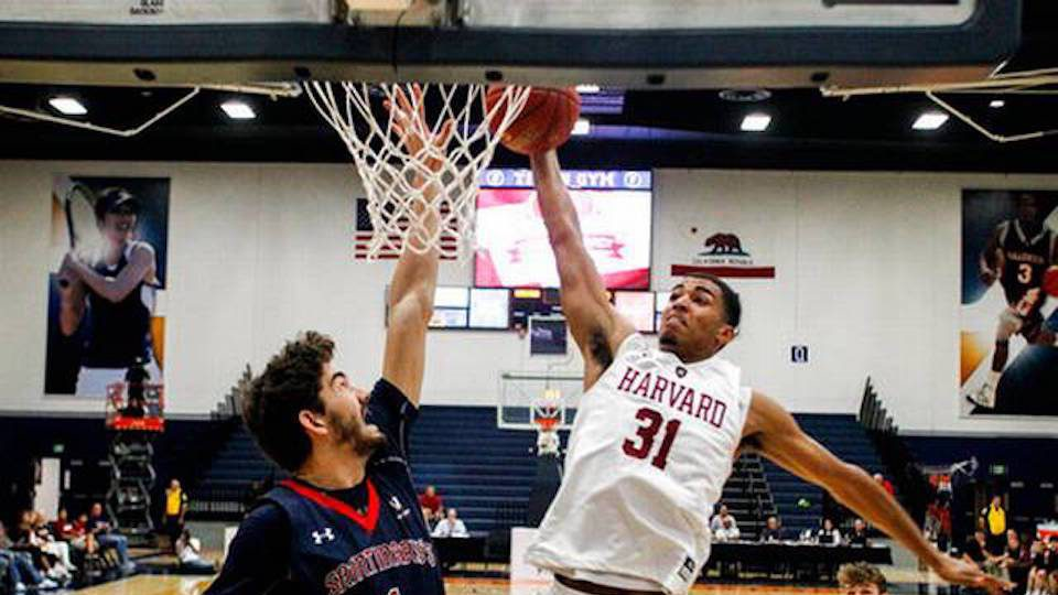 Harvard Crushed by No. 21 St. Mary's, 89-71