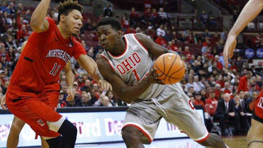 Northeastern Overpowered by Ohio State, 80-55
