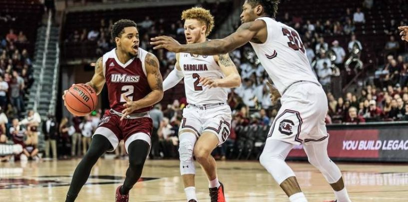 UMass Falters Down Stretch in 76-70 Loss to South Carolina