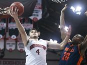 Pusica Pushes Northeastern Past Bucknell, 82-64