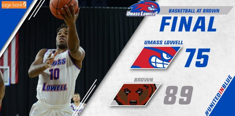 UMass Lowell Falls to Brown, 89-75