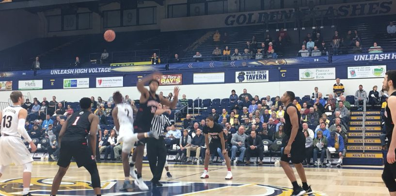 Pusica Pours in 21, Northeastern Beats Kent State, 81-69