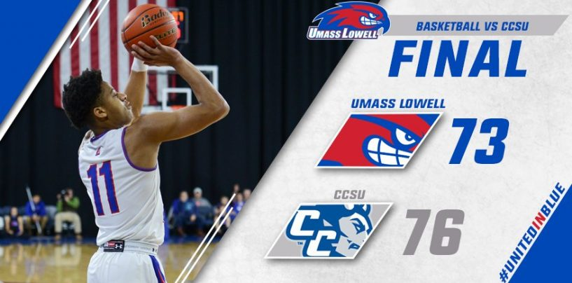 UMass Lowell Nipped by CCSU, 76-73