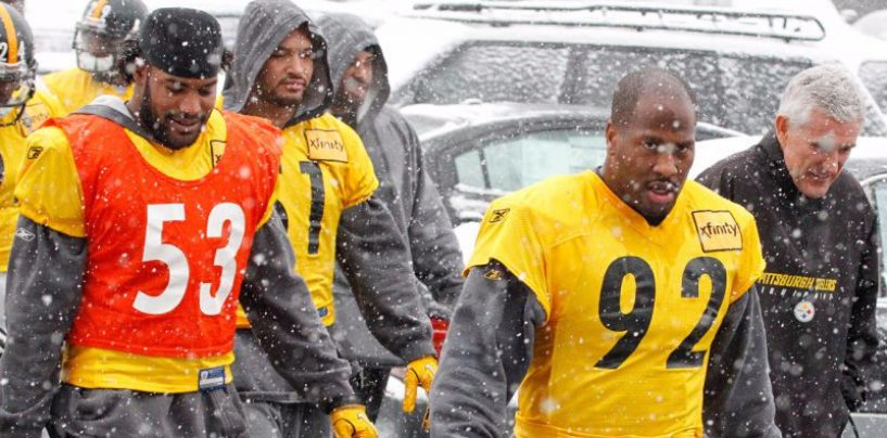 Report: Steelers Players Respond to Harrison Signing With Patriots