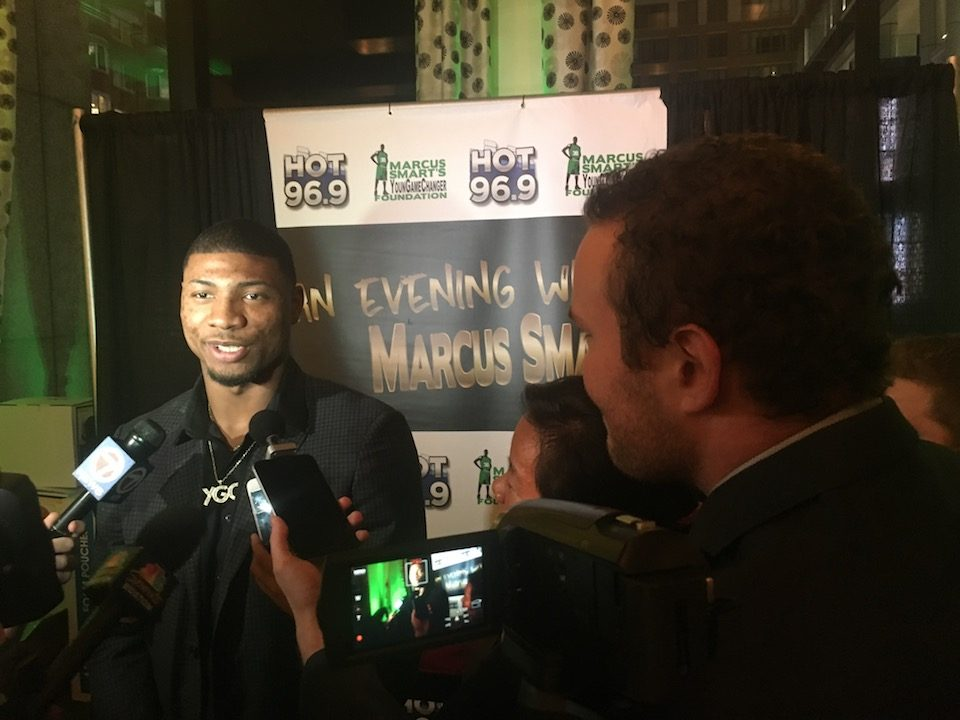 Watch: Prime Time Goes to Marcus Smart's Charity Event