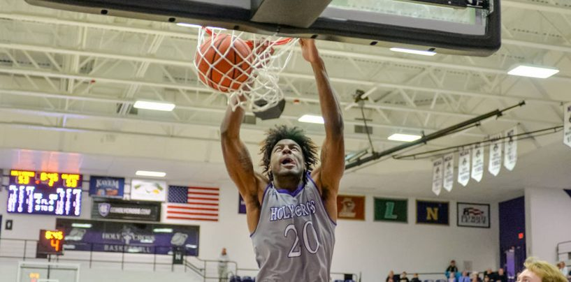 Holy Cross Falls Late in First Patriot League Matchup