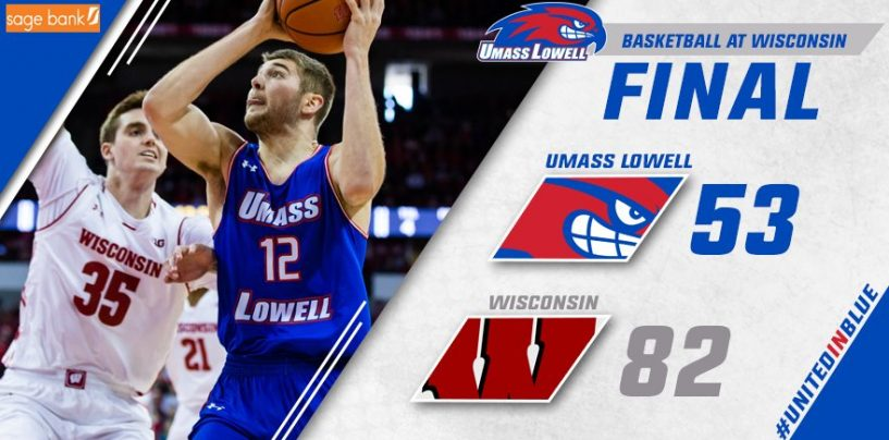 UMass Lowell Routed by Wisconsin 82-53