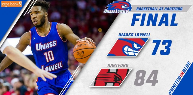 UMass Lowell Edged by Hartford 84-73