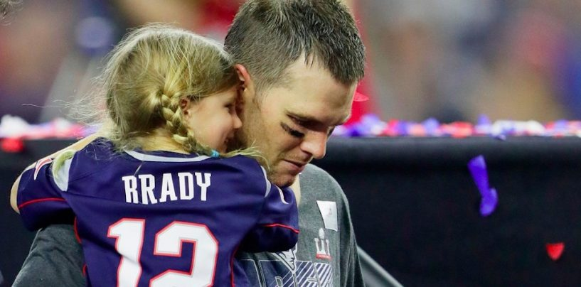 Report: Writer and Broadcaster Insults Brady's Daughter