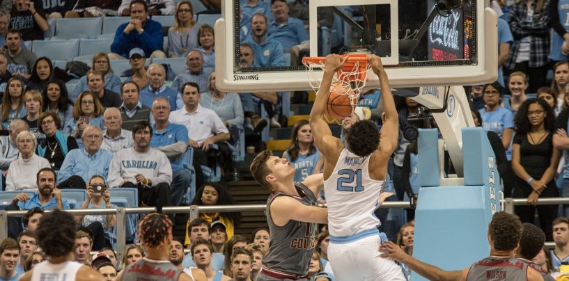Eagles Slaughtered by Tar Heels