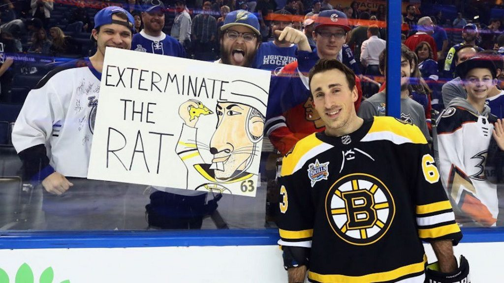 Image result for brad marchand rat