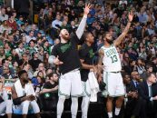 Boston Has Historic Game in Blowout Against Hornets