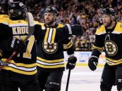 Third Period Rally Sends Bruins to Second Round