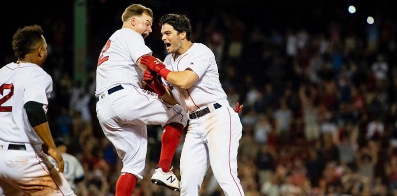Red Sox 'Do Some Damage' With Four-Game Sweep of Yankees