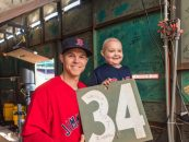 Holt Named Red Sox 2018 Roberto Clemente Award Nominee