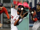3 Red Sox Players Take Home Gold Glove Honors