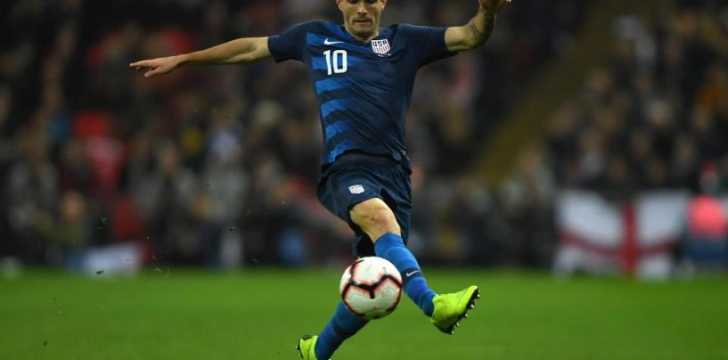 Pulisic to Join Chelsea for Record Fee