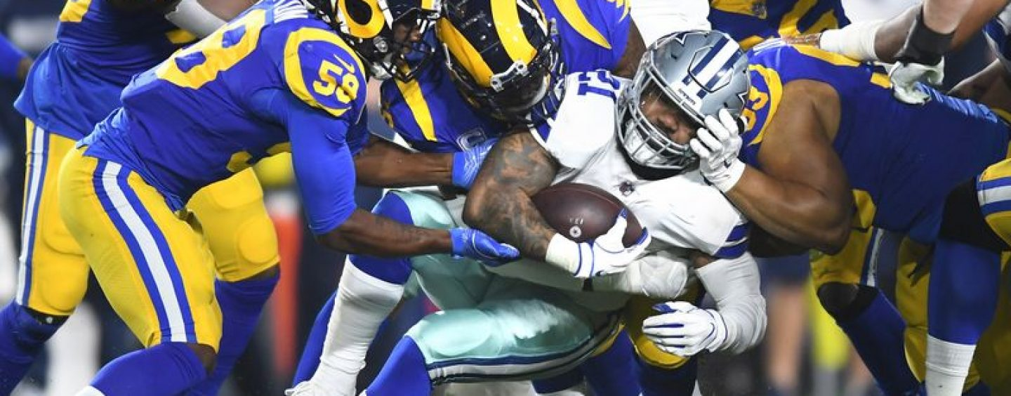 Rams Run Ragged, Roll Cowboys