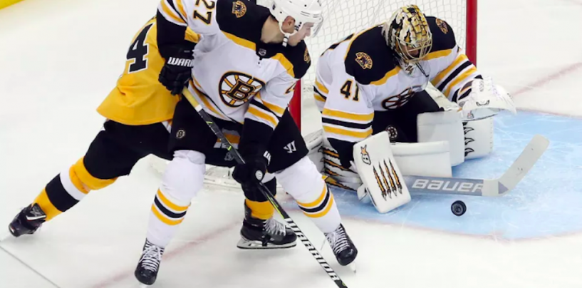 Bruins Lose to Penguins 4-2, Ending Their 19-Game Point Streak