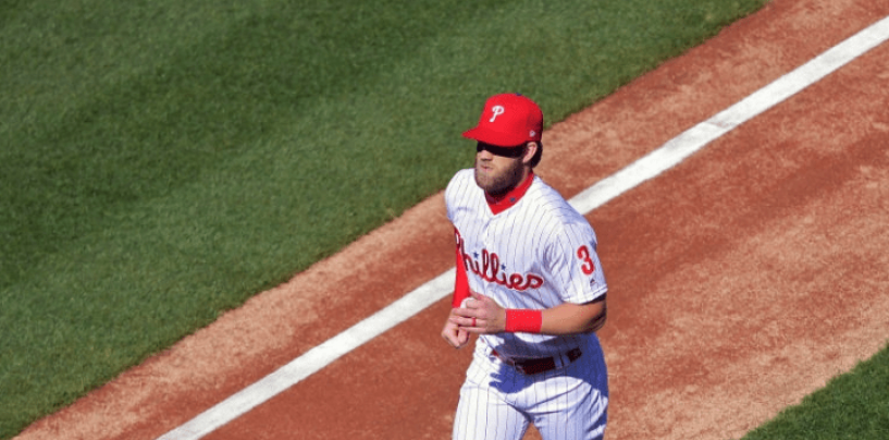 Phillies Fans Already Booing Bryce Harper