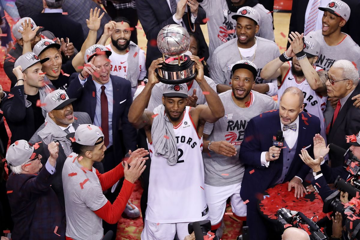 The Toronto Raptors Advance to the NBA Finals