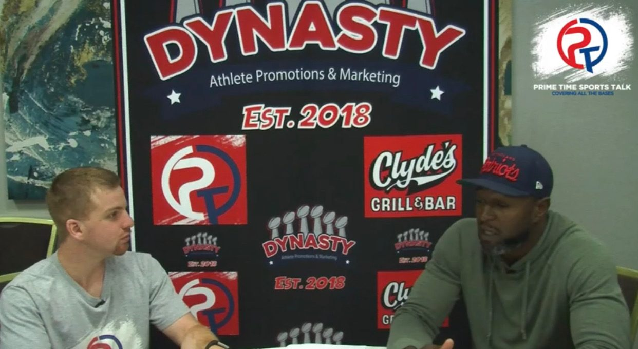 Watch: Prime Time Sports Talk's Interview With Eric Alexander