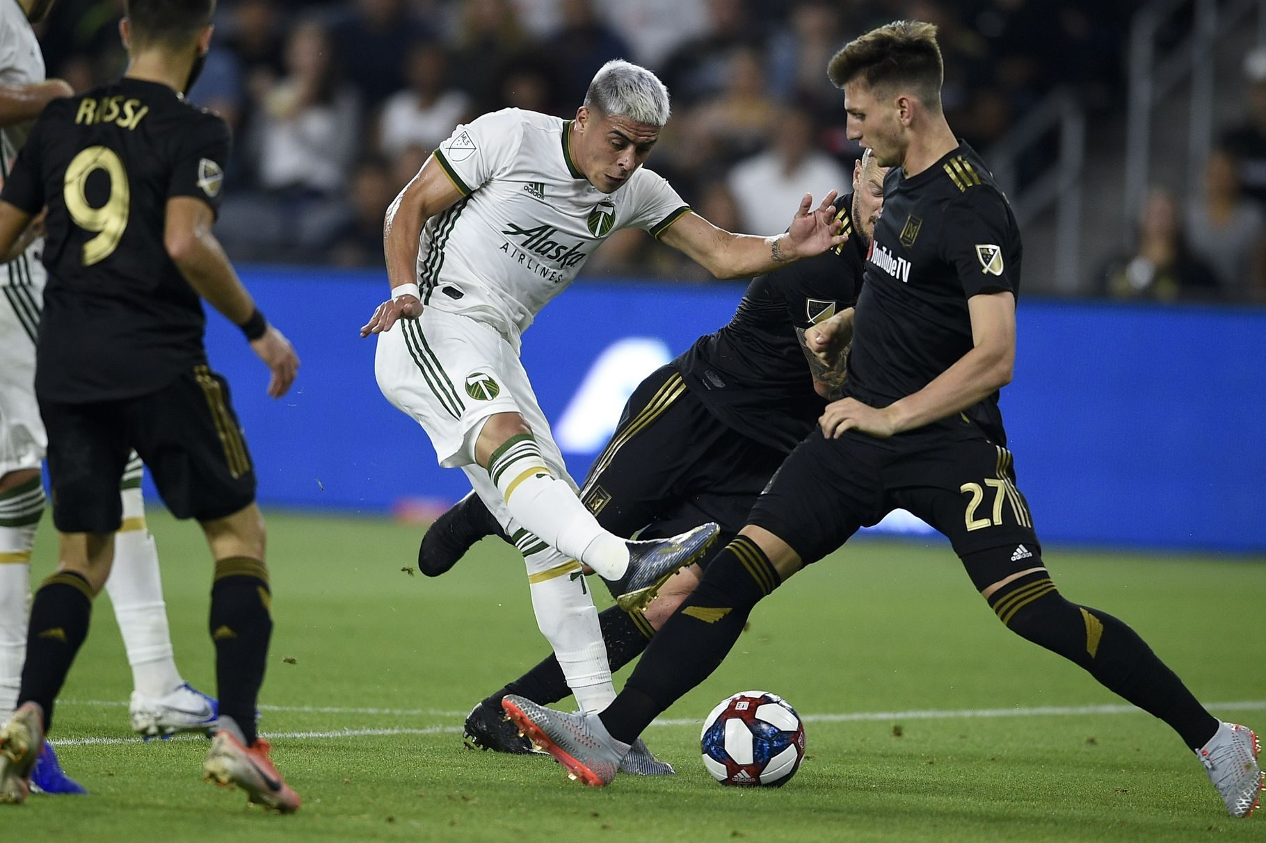 LAFC Loses at Home to the Portland Timbers