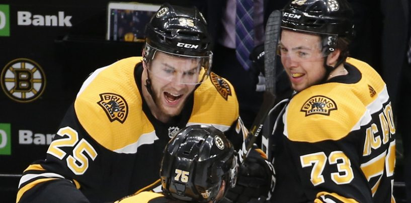 Bruins Young Guns Remain Unsigned