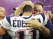 The Weird but Funny Edelman/Belichick Hot Tub Story