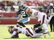 Panthers Fall to Undefeated 49ers