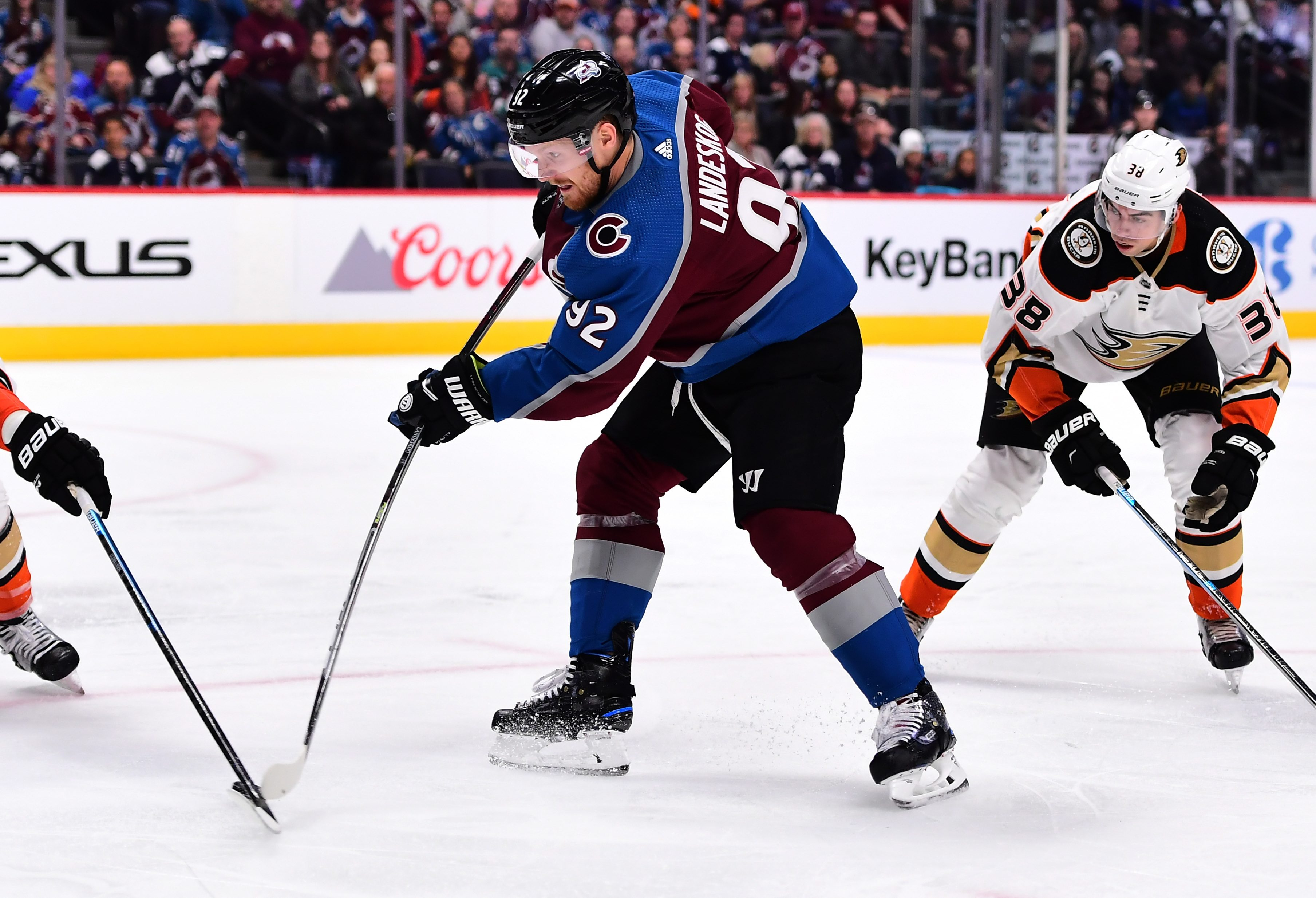 Mikko Rantanen and Gabriel Landeskog Back in Practice for Colorado Avalanche