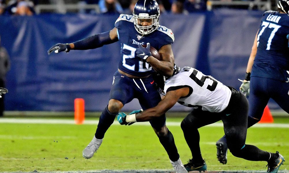 Henry Runs Wild as Titans Blowout Jaguars