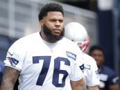 Report: Patriots Missing Crucial Part of Offensive Line