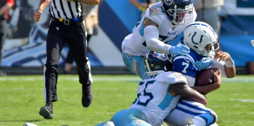 Colts, Titans Battle for Potential Possession of First Place in AFC South