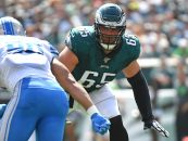 Lane Johnson Signs Record-Breaking Extension with Philadelphia Eagles