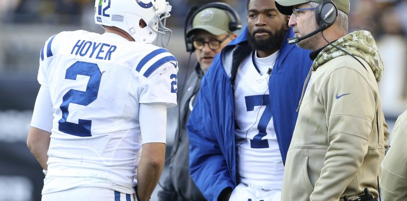 Indianapolis Colts' Postseason Hopes Rest on Jacoby Brissett's Knee