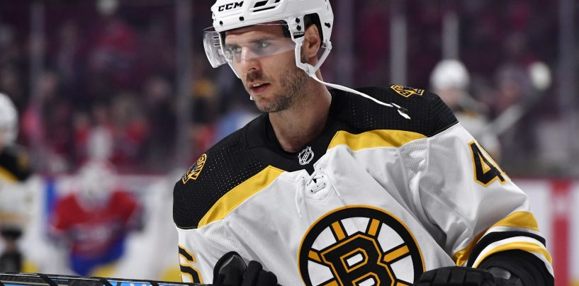 Rested David Krejci Could Propel Bruins Over Playoff Hurdles