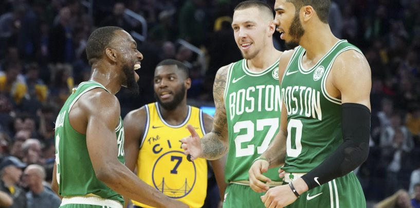 Boston Celtics Working Together as a Whole Unit During 10-Game Winning Streak
