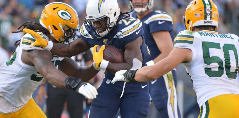Chargers Keep Playoff Hopes Alive in Win Against Green Bay