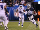Dallas Cowboys Fight for Win Over New York Giants on Monday Night