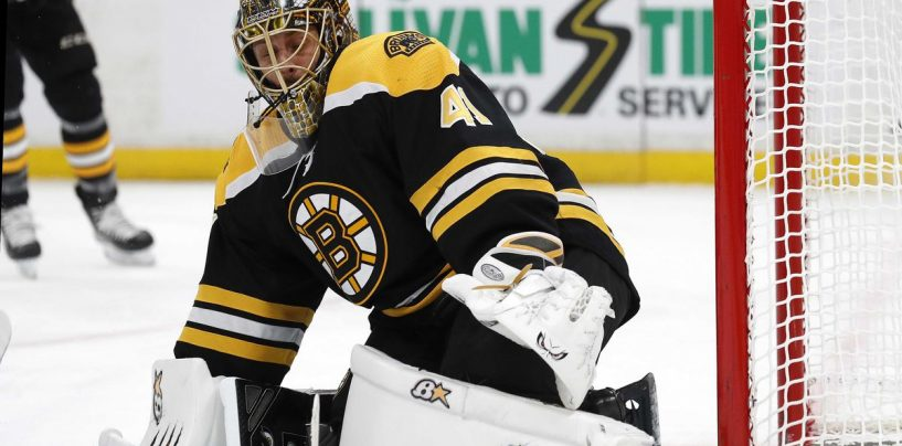 Halak Continues to Exceed Expectations for the Bruins