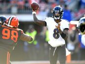 Ravens Start Slow, Pick up Convincing Win in Cleveland