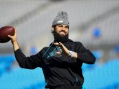 Panthers Name Will Grier Starting Quarterback Against Colts