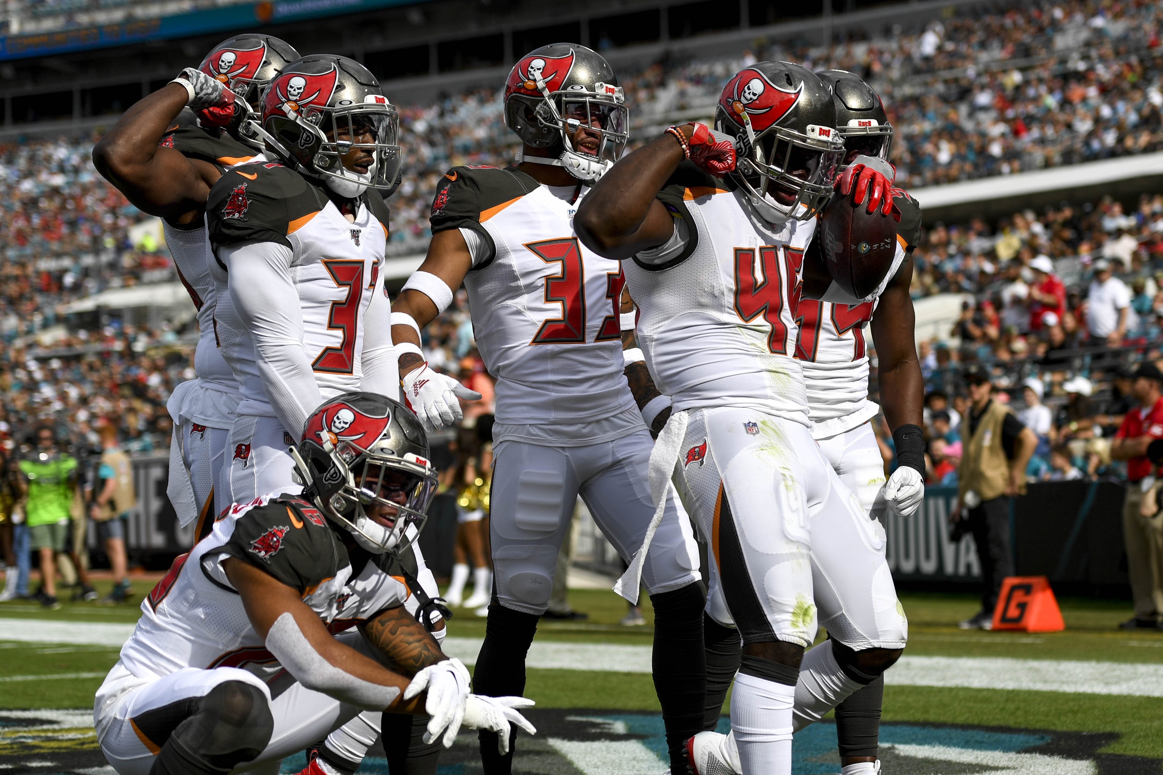 Tampa Bay Buccaneers Finish with Top 5 Defense