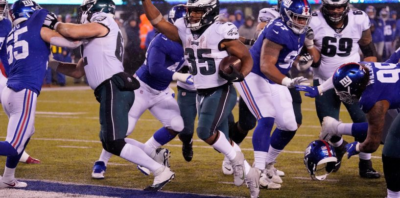Eagles Secure NFC East Title with Week 17 Victory over Giants