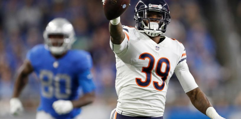 Chicago Bears Lock Up Safety Eddie Jackson for 4 Years