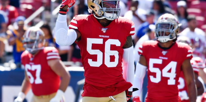 San Francisco 49ers Activate Kwon Alexander from IR Ahead of Game vs. Vikings