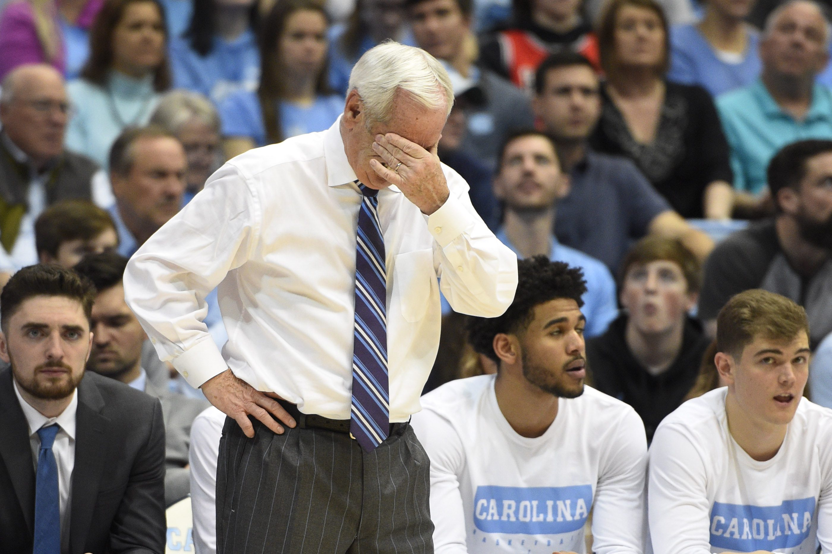 """Roy Williams Calls Out Tar Heels: """"Least-Gifted Team I've Ever Coached"""""""