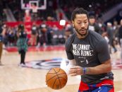 Sources: Several Teams Showing Interest in Acquiring Derrick Rose from Pistons