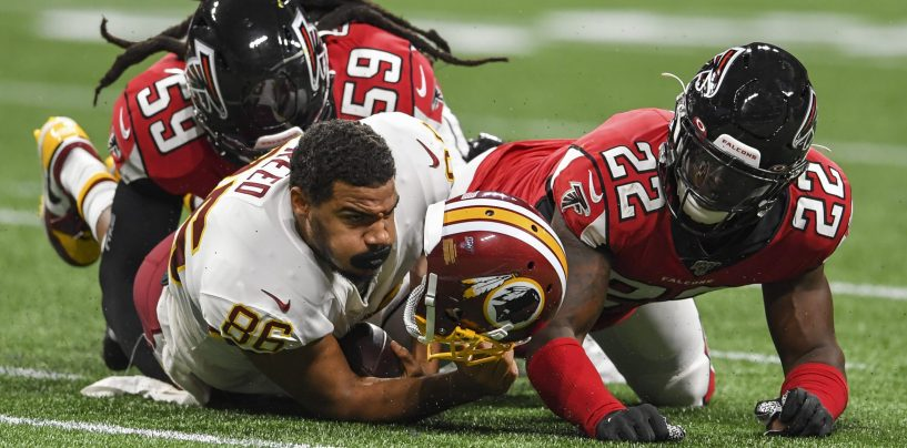 Report: Redskins Expected to Release Jordan Reed Amidst 7th Concussion